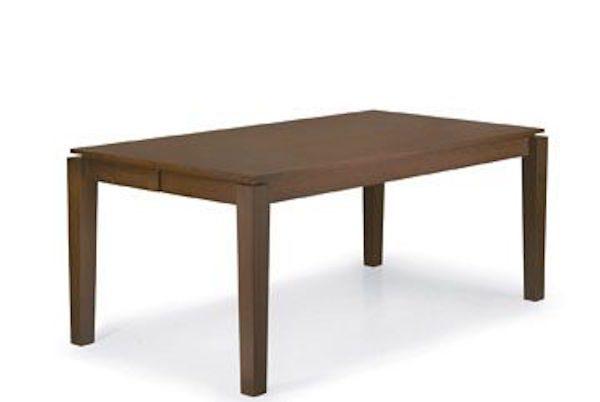 Kruglyj stol transformer CAPRI (belyj)