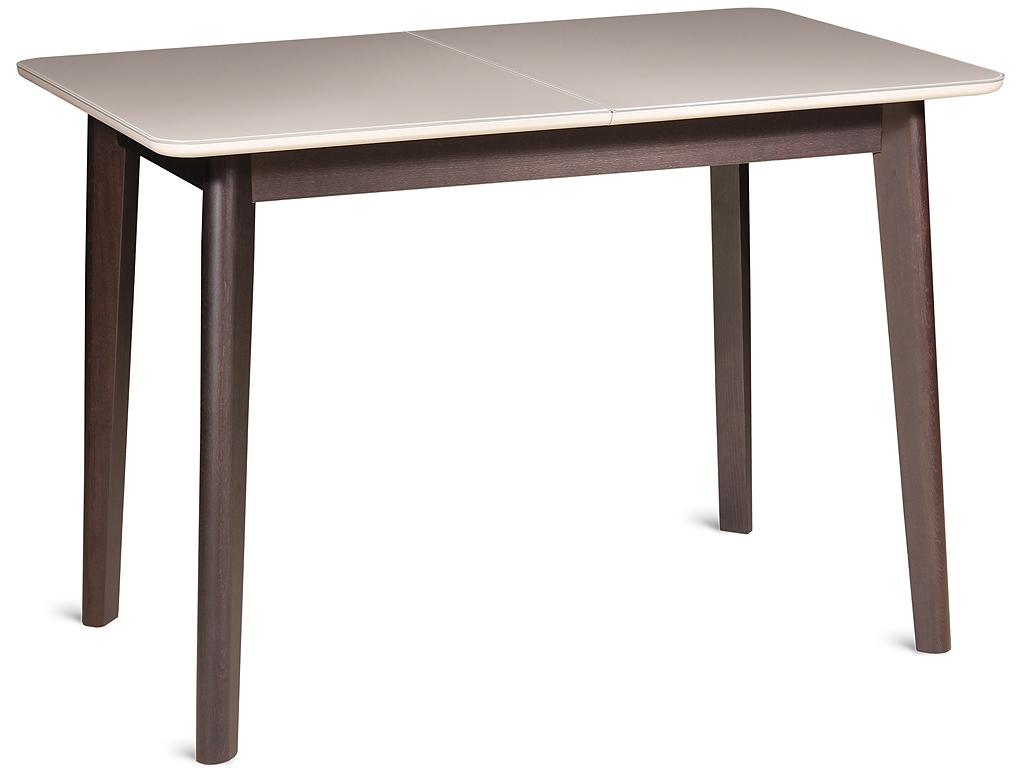Стол трансформер обеденный раскладной FELICE 110 венге капучино