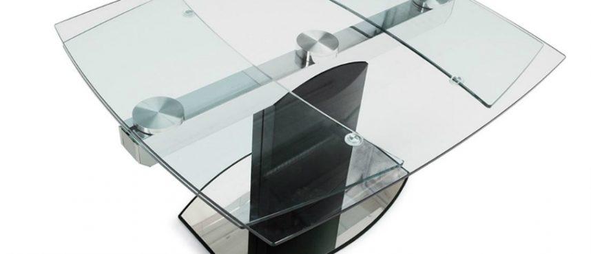 Советы по уходу за стеклянными столиками трансформерами